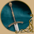 LARP Two Handed sword- Krom - the conquerers sword